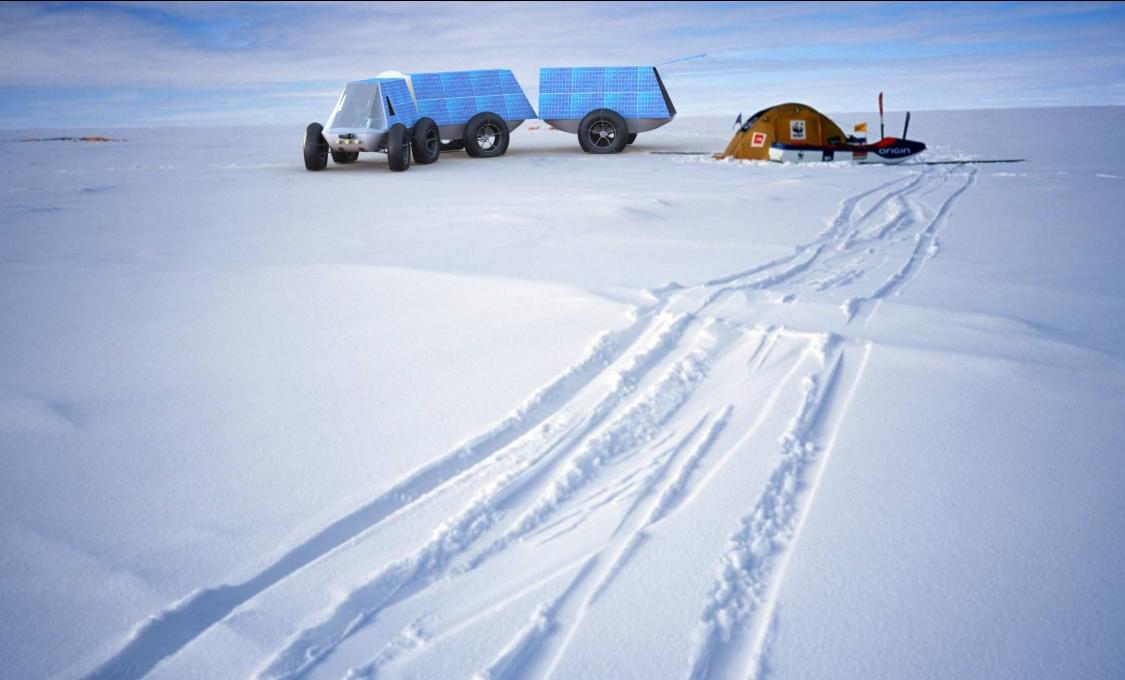 Klimaatneutraal naar de Zuidpool